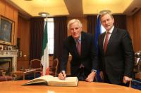 Visit of Michel Barnier, Chief Negotiator for Article 50 Negotiations with the United Kingdom, to Ireland