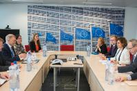 Visit of Dolors Montserrat, Spanish Minister for Health, Social Services and Equality, to the EC