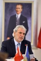 Visit of Christos Stylianides, Member of the EC, to Turkey