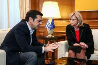 Visit by Corina Creţu, Member of the EC, to Greece