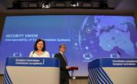 Press conference by Vĕra Jourová and Julian King, Members of the EC, on interoperability of EU information systems and progress towards a Security Union