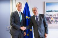 Visit of Rob Wainwright, Director of Europol, to the EC