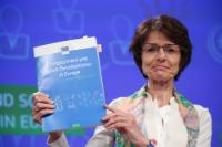Press conference by Marianne Thyssen, Member of the EC, on the 2017 edition of the Economic and Social Developments review