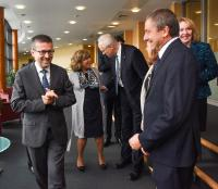 Visit of CEOs of research funding foundations, to the EC