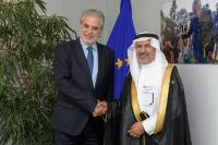 Visit of Abdullah Al Rabeeah, Advisor to the Royal Court and Supervisor General of the King Salman Centre for Relief and Humanitarian Aids, to the EC