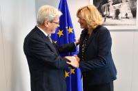 Visite de Claudio De Vincenti, ministre italien de la Cohésion territoriale et Mezzogiorno, à la CE