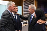 Réunion hebdomadaire de la Commission Juncker