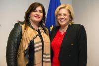 Visite de Gabrijela Žalac, ministre croate du Développement régional et des Fonds de l'UE, à la CE