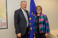 Visit of Dame Sally Davies, Chief Medical Officer for England, to the EC