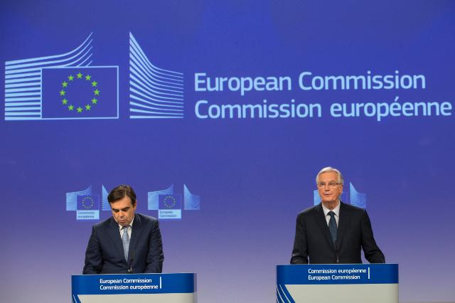 Press conference of Michel Barnier, Chief Negotiator and Head of the Taskforce of the EC for the Preparation and Conduct of the Negotiations with the United Kingdom under Article 50 of the TEU