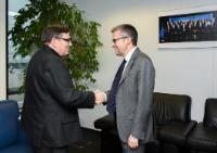 Visit of Xavier Barcons, General Director of the European Organisation for Astronomical Research in the Southern Hemisphere (ESO), to the EC