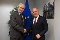 Visit of Kerem Kınık, Vice-President responsible for European region of the International Federation of Red Cross and Red Crescent Societies (IFRC), to the EC