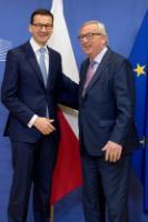 Visite de Mateusz Morawiecki, Premier ministre polonais, à la CE