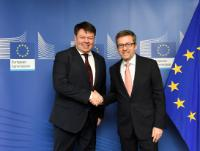 Visit of Petteri Taalas, Secretary-General of World Meteorological Organization, to the EC