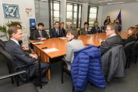 Visit of a delegation of young italian entrepreneurs, to the EC