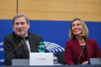 Joint press conference by Federica Mogherini, Vice-President of the EC and Johannes Hahn, Member of the EC on the conclusions of the weekly meeting of the EC College