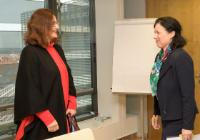 Visite de Martina Lubyová, ministre slovaque de l'Education, des Sciences, de la Recherche et du Sport, à la CE