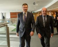 Visit of Luis de Guindos Jurado, Spanish Minister for Economy, Industry and Competitiveness, to the EC