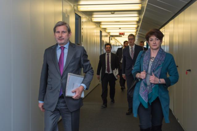 Visit of Zied Ladhari, Tunisian Minister for Development, Investment and International Cooperation, to the EC