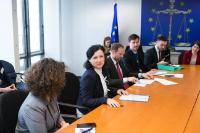 Visit of a delegation of European Union of Jewish Students, to the EC