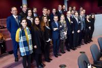 Visite d'un groupe de députés de Madère à la CE