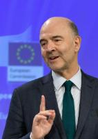 Press conference on the conclusions of the EC College meeting by Valdis Dombrovskis, Vice-President of the EC, and press conference by Marianne Thyssen and Pierre Moscovici, Members of the EC, on the European Semester Winter Package