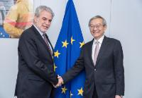 Visite de Zhang Ming, chef de la mission de la Chine auprès de l'UE, à la CE