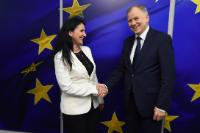 Visit of Sorina Pintea, Romanian Minister for Health, to the EC