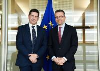 Visit of Saaïd Amzazi, Moroccan Minister for National Education, Vocational Training, Higher Education and Scientific Research, to the EC