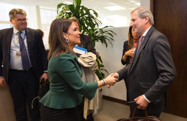 Visit by Johannes Hahn, Member of the EC to the United States of America