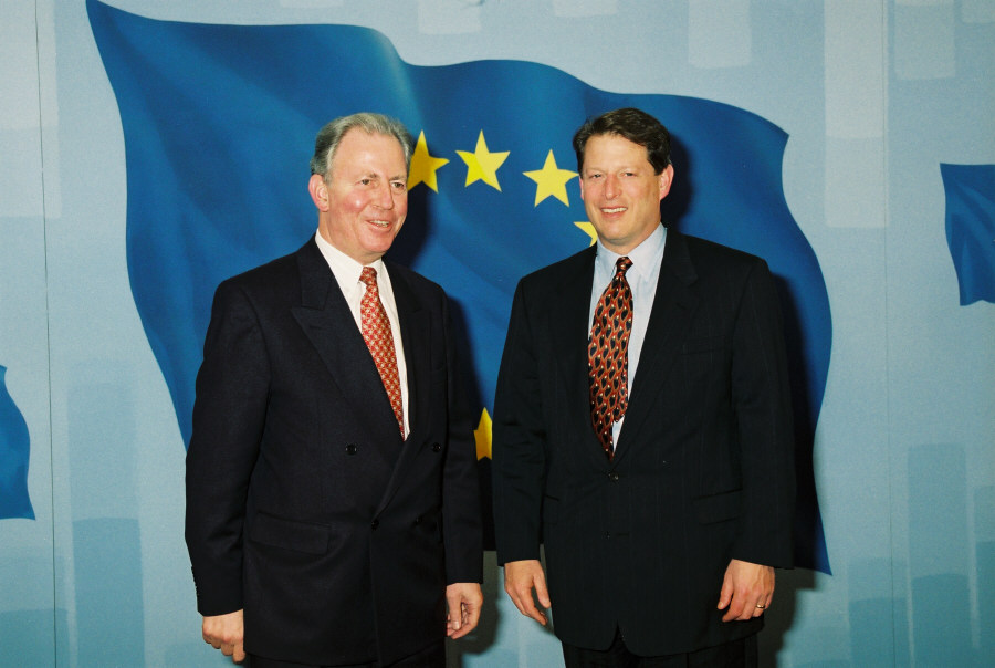 Visit of Al Gore, Vice-President of the United States, to the EC