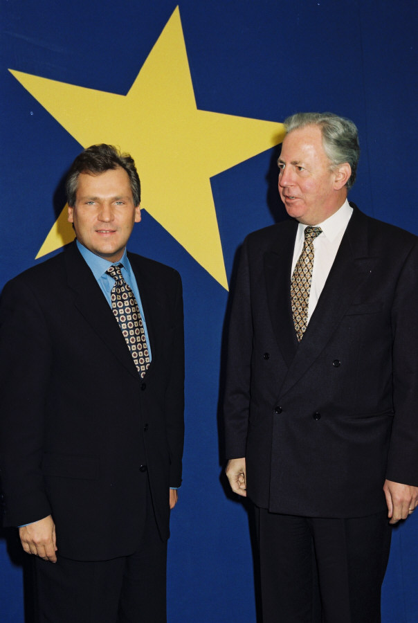 Visit of Aleksander Kwaśniewski, President of Poland, to the EC