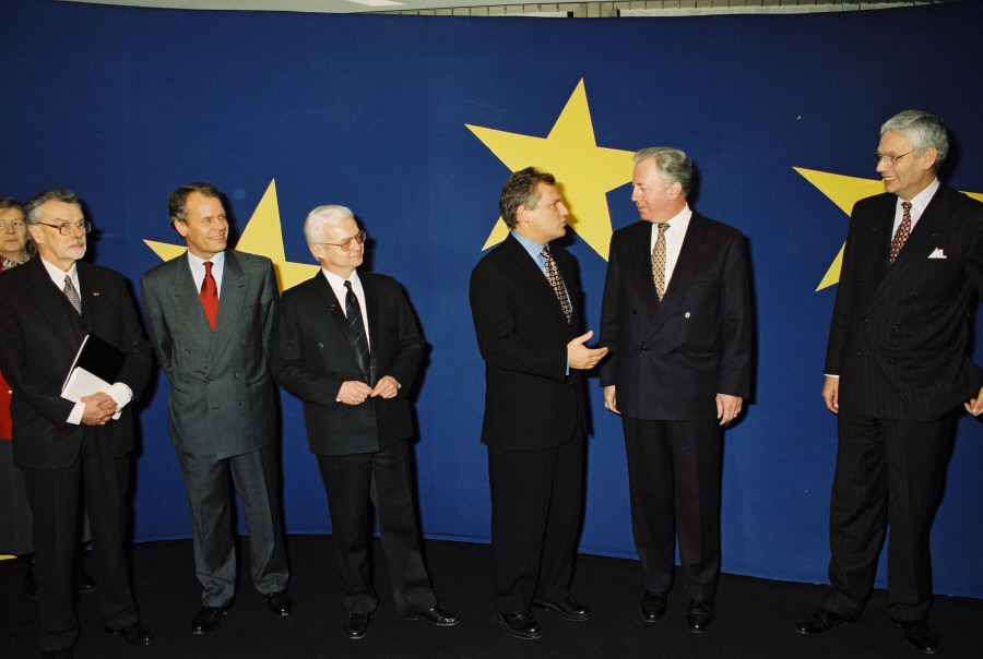 Visit of Aleksander Kwaśniewski, President of Poland, to the EC