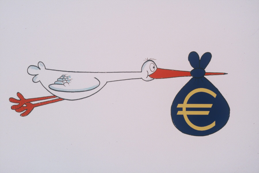 The stork and the euro