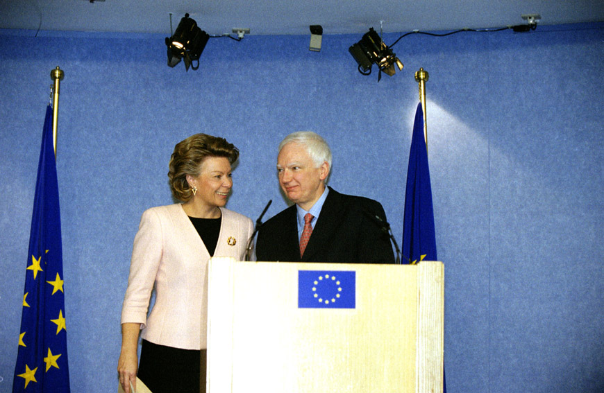 Joint press conference by Viviane Reding, Member of the EC, and Philippe Maystadt, President of the European Investment Bank