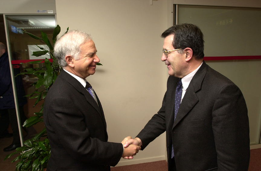 Visit of Ovadia Sofer, Personal Emissary of Ariel Sharon, to the European Commission