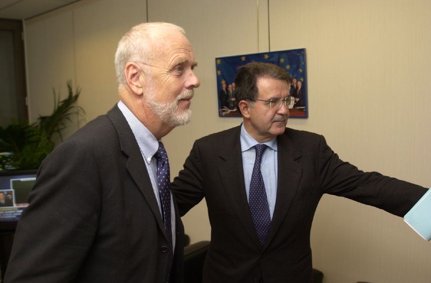 Visit of Jan O. Karlsson, President of the European Court of Auditors, to the EC