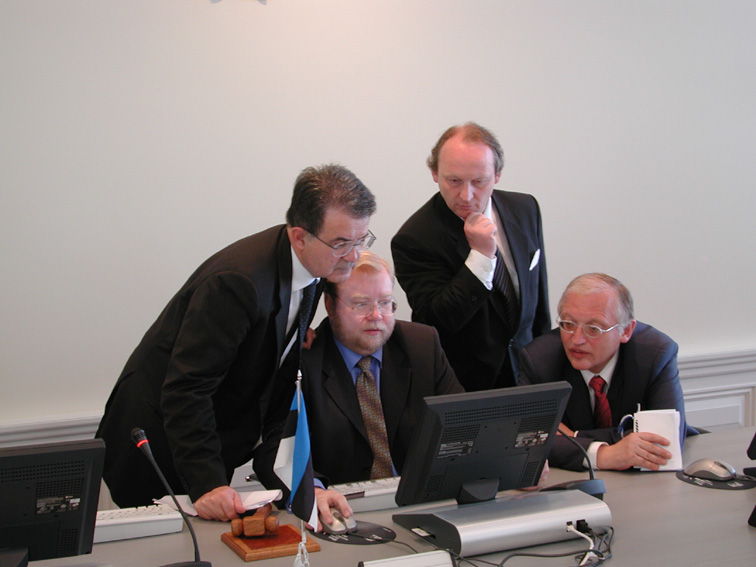 Visit to Estonia by Romano Prodi, President of the EC