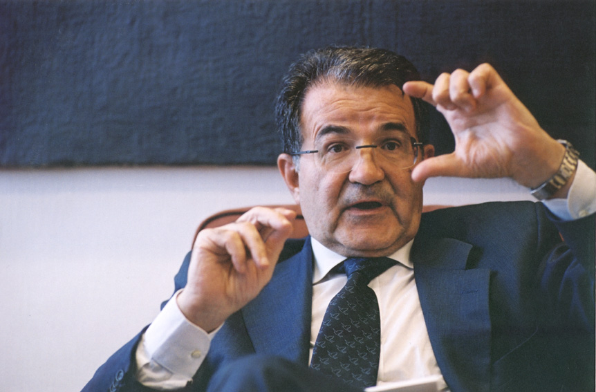 Romano Prodi, President of the EC