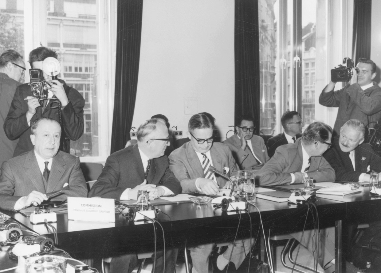 First Council of the Ministers with Norway