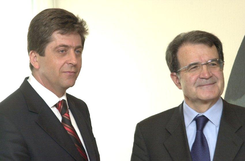 Visite de Georgi Parvanov, président de la Bulgarie, à la CE