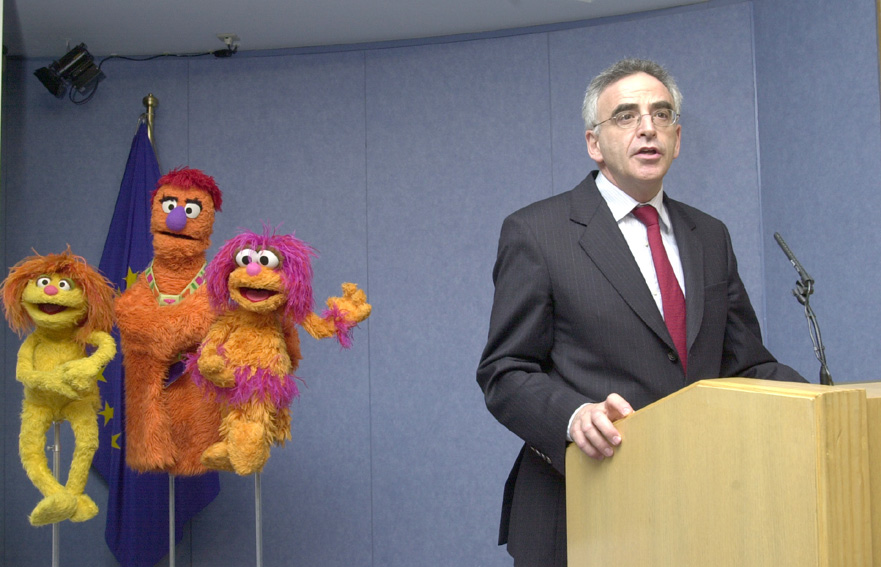 Support of the EC to the TV programme Sesame Street Stories broadcasted in the Middle East