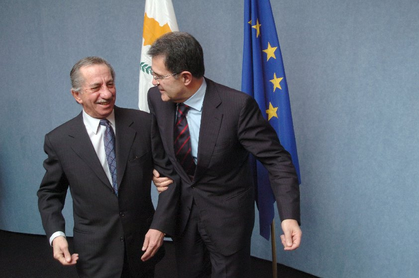 Visit by Tassos Papadopoulos, President of Cyprus, to the EC