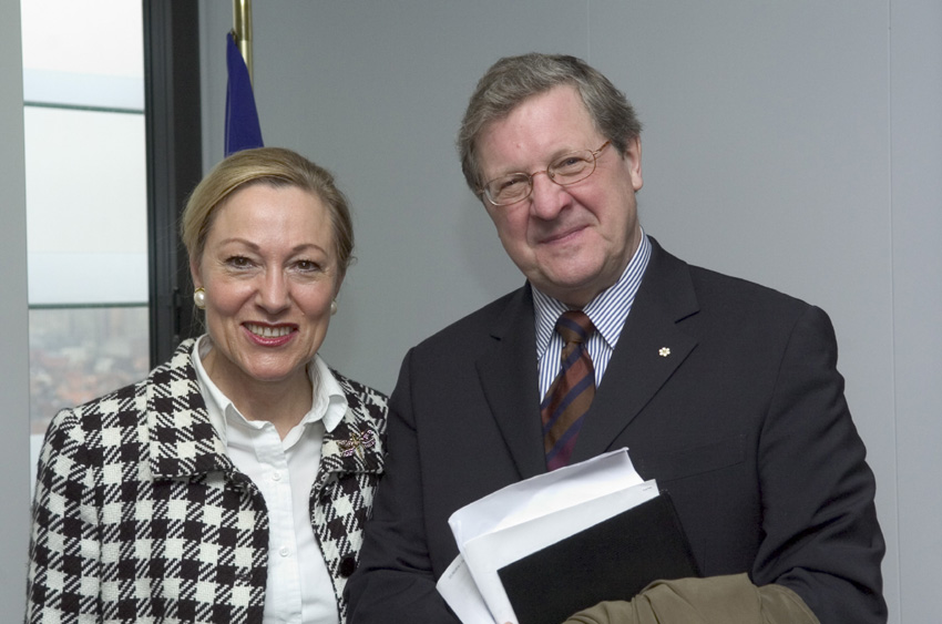 Visit of Lloyd Axworthy, Special Envoy of the UN Secretary General for Ethiopia and Eritrea, to the EC