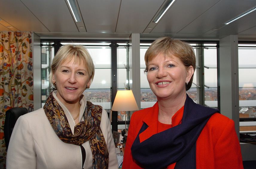 Visit of Katalin Szili, Speaker of the Hungarian Parliament, to the EC