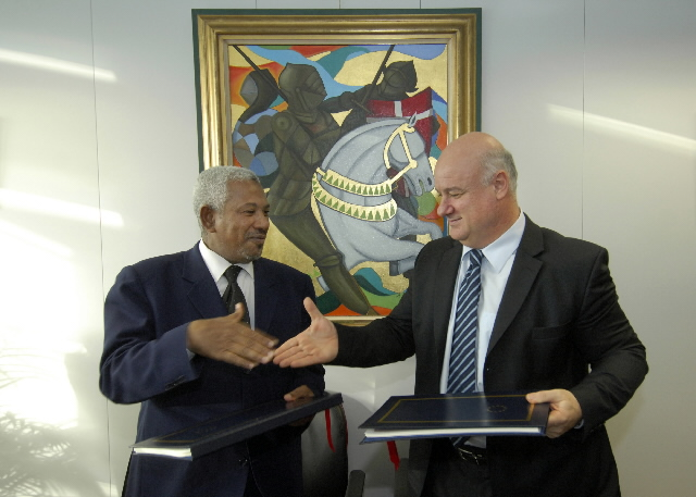 Signature of a new fisheries partnership agreement and protocol EU/Comoros