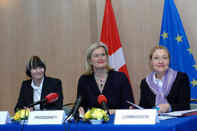 Signature of an EU/Switzerland memorandum of understanding on the financing of projects in the new Member States