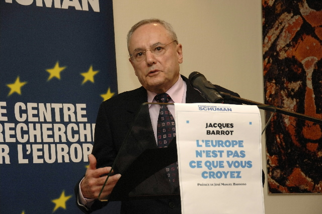 Presentation by Jacques Barrot, Vice-President of the EC of his book: