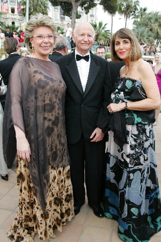 Viviane Reding, Member of the EC, at the 60th Cannes International Film Festival