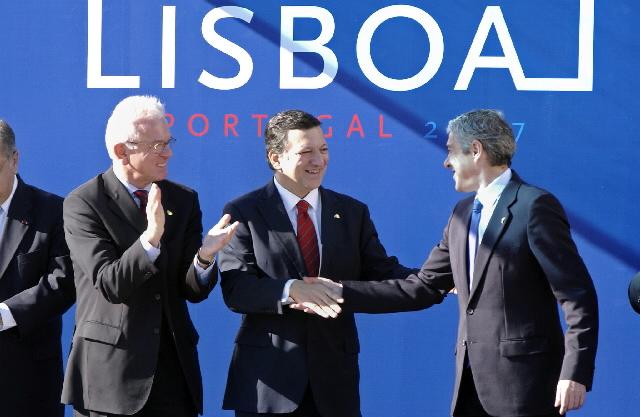 Signature of the Treaty of Lisbon